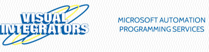 visual integrators microsoft automation programming services